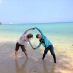 大自然の中のヨガ in 石垣島