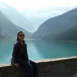 アメリカ大陸横断の旅17 カナダのルイーズ湖