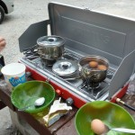 アメリカ大陸横断の旅13 新居は野外テント