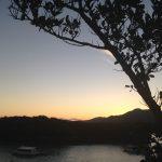 川平湾の日の出